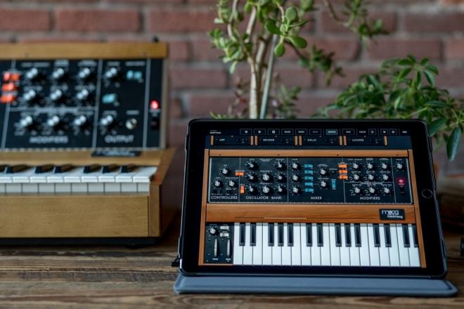 Moog sort une appli reproduisant toutes les fonctions du Minimoog Modèle D