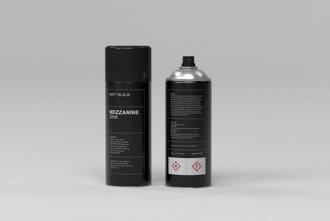 La version ADN de 'Mezzanine' de Massive Attack dans une bombe de peinture