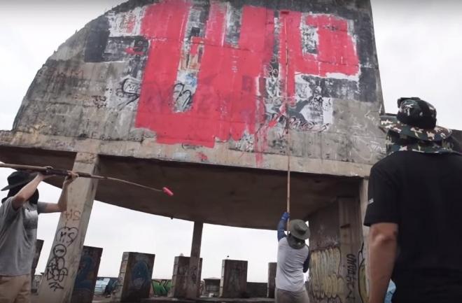 À voir: Des graffeurs berlinois signent un clip pour 'One United Power' de Modeselektor