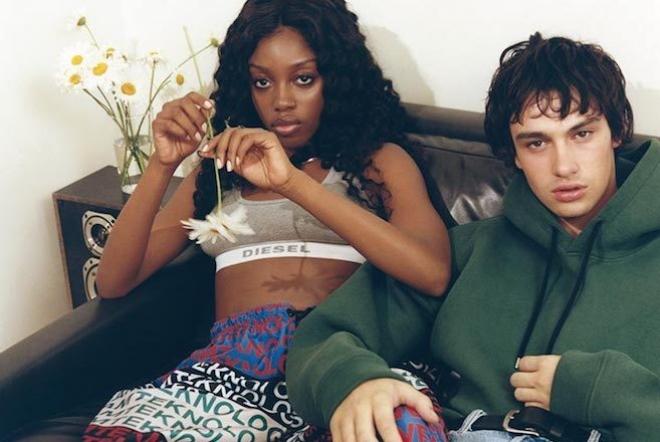 La collection Diesel x Vogue célèbre les nuits débauchées des 90's