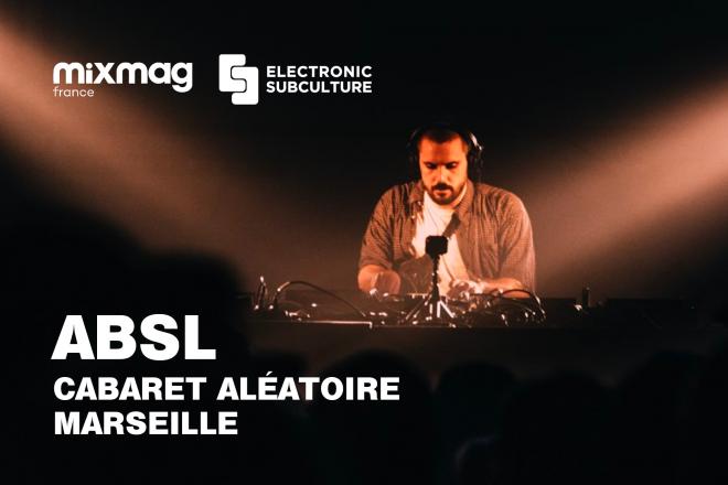 La performance enflammée d'ABSL pour la dernière Electronic Subculture