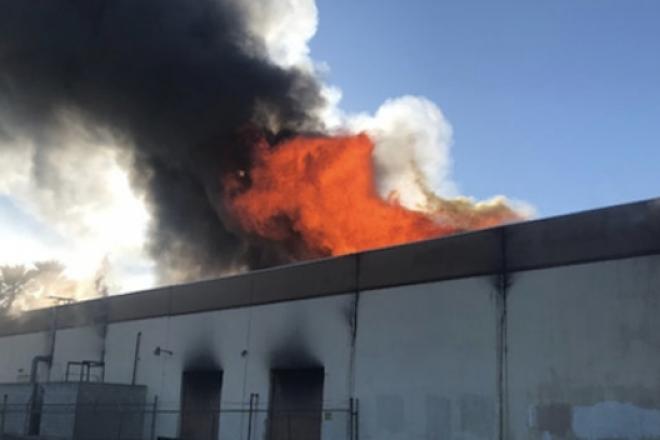 Un incendie a ravagé une des deux seules usines de vinyles en laque au monde