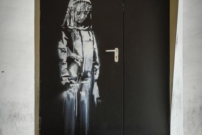 L'œuvre de Banksy en hommage aux victimes du Bataclan, a été dérobée