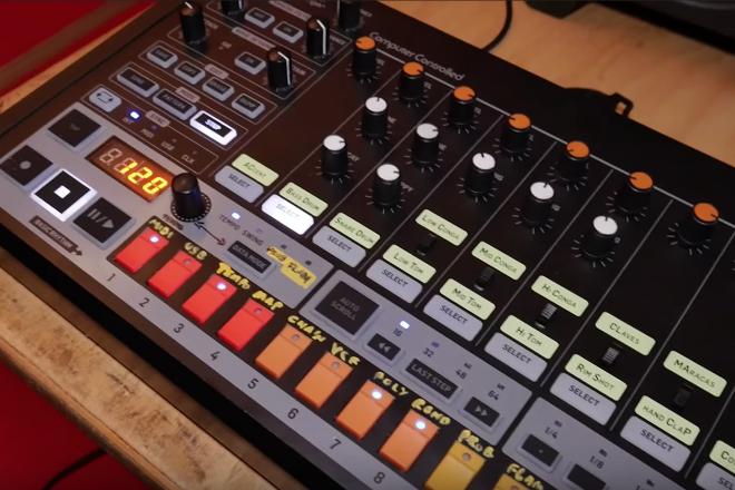 Vidéo : les premières images du clone de la TR-808 de Behringer, en action