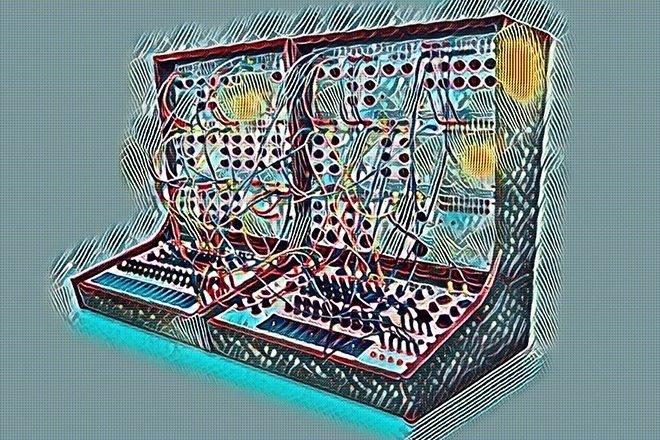 Un technicien se défonce au LSD en rénovant un synthé modulaire des 60's