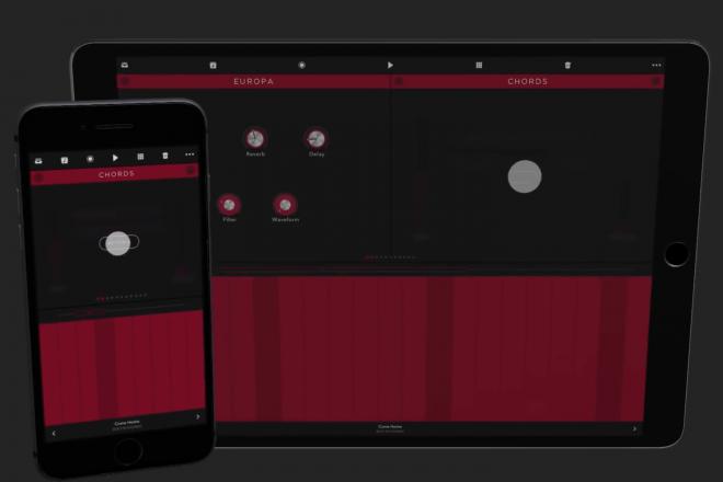 Cette application permet de produire sur Reason depuis son smartphone