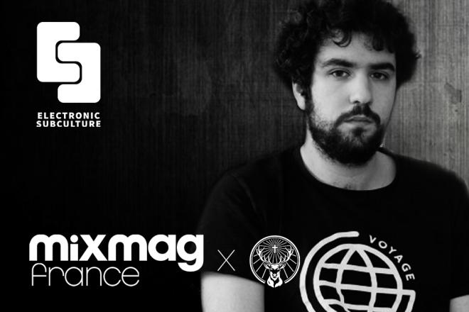 Flabaire en DJ set pour Electronic Subculture Paris