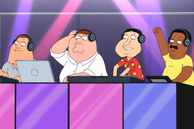 Le nouvel épisode de Family Guy se moque de la culture DJ
