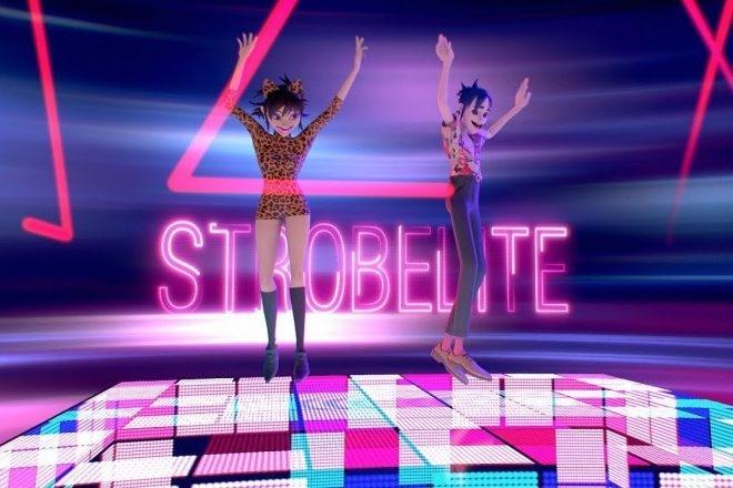 Gorillaz se déchaîne sur le dancefloor dans le clip de 'Strobelight'