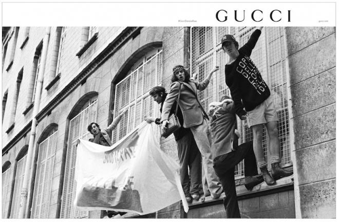"""Gucci utilise un titre culte de Laurent Garnier dans une pub """"soixante-huitarde"""""""