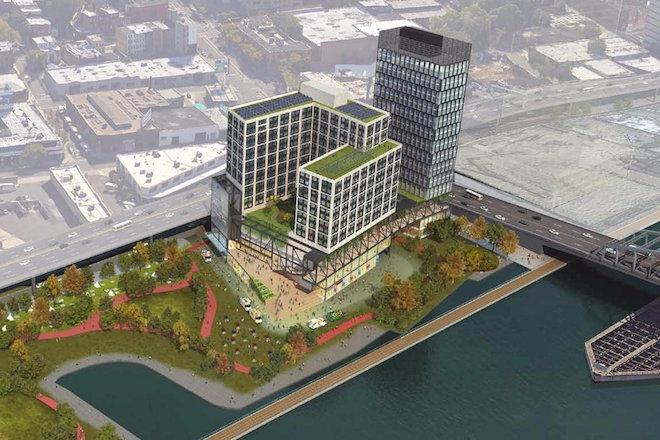 Cet immense bâtiment sur les quais du Bronx accueillera le Musée Universel du hip-hop
