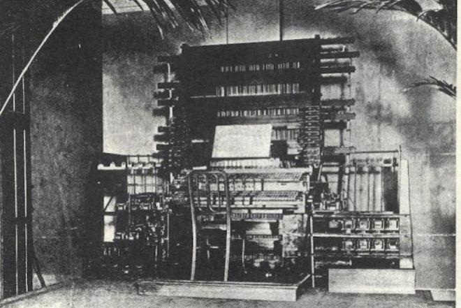 On a retrouvé l'ancêtre du synthétiseur, et il a plus de 120 ans
