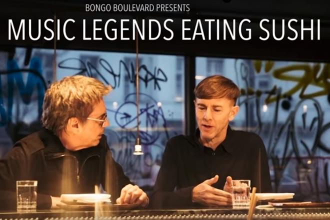 Vidéo: Richie Hawtin et Jean-Michel Jarre se rencontrent autour d'un repas japonais