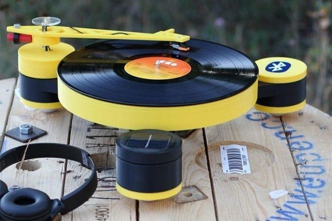 La toute première platine vinyle en impression 3D est née