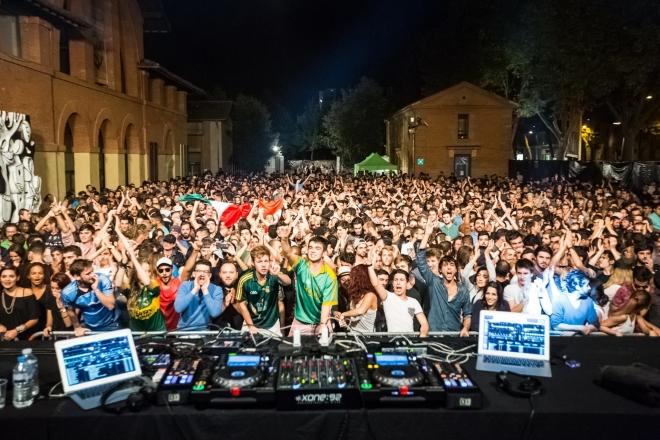 À Toulouse, 3 semaines de fêtes techno, trance et bass music dans toute la ville