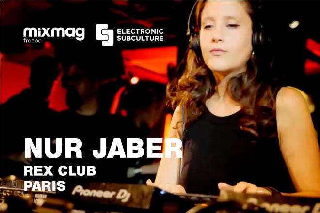 L'envoûtante performance de Nur Jaber au Rex Club pour Electronic Subculture