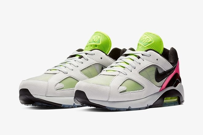 Nike sort un modèle de Air Max 180 inspiré de la culture techno