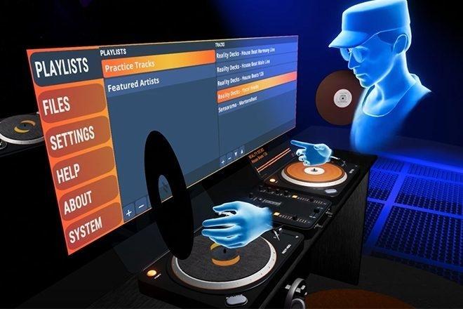 Oculus Rift sort Reality Decks, une appli pour mixer en VR