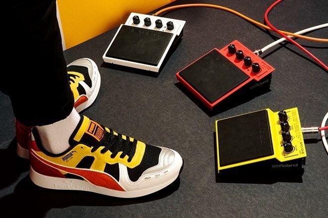 Roland x Puma dévoilent une seconde paire de sneakers pour leur collaboration inspirée de la 808