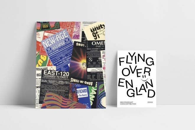 Un livre compile le meilleur des flyers de free parties anglaises des 90's