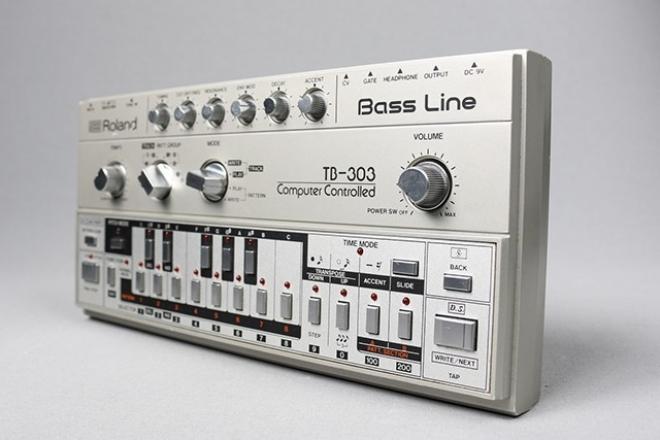 Roland sort une version logicielle de la TB-303 et un pack de samples