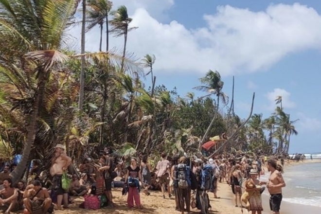 300 ravers coincés en quarantaine sur le site d'un festival au Panama