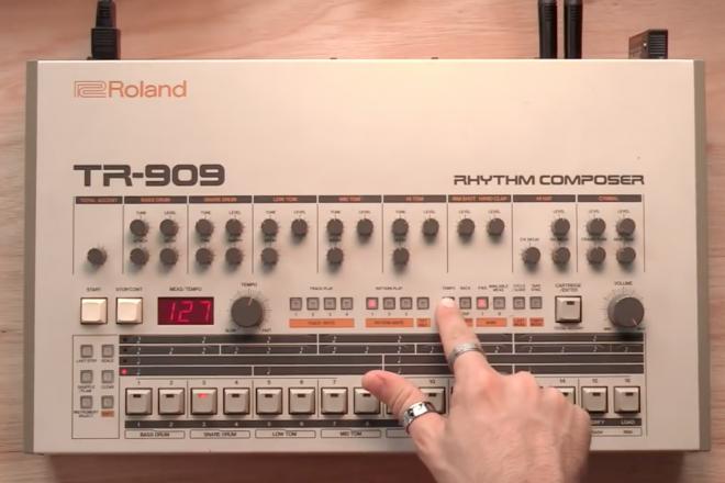 Tuto : Apprenez à reproduire les plus grands classiques enregistrés sur la TR-909