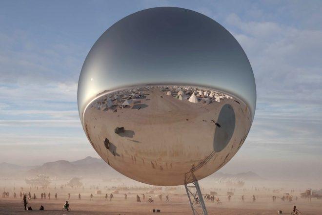 Une boule disco de 30 mètres guidera les festivaliers jusqu'au Burning Man cette année