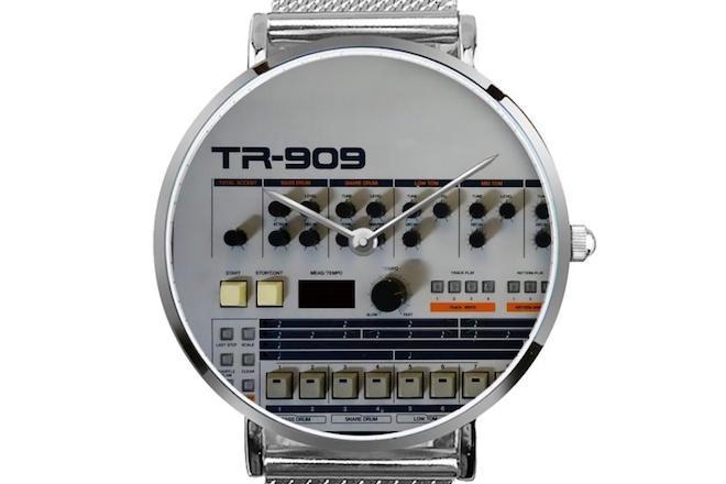 Donnez l'heure avec classe avec ces montres inspirées des TR-909 et TR-808