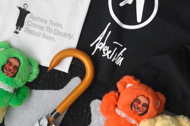 Des éditions limitées du merch Aphex Twin disponibles à prix cassés pour #CyberMonday