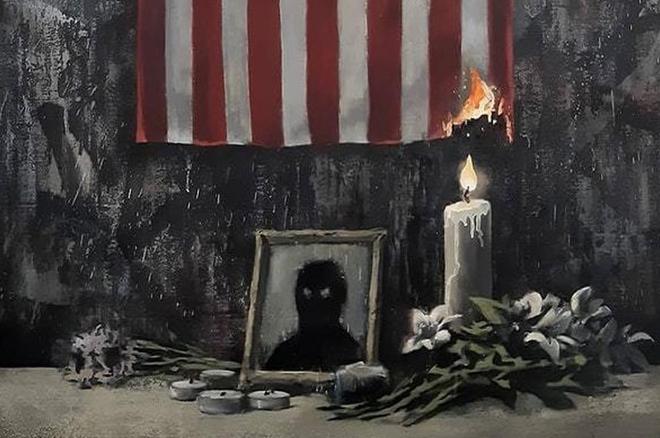 Banksy soutient le mouvement Black Lives Matter avec une nouvelle œuvre et un message