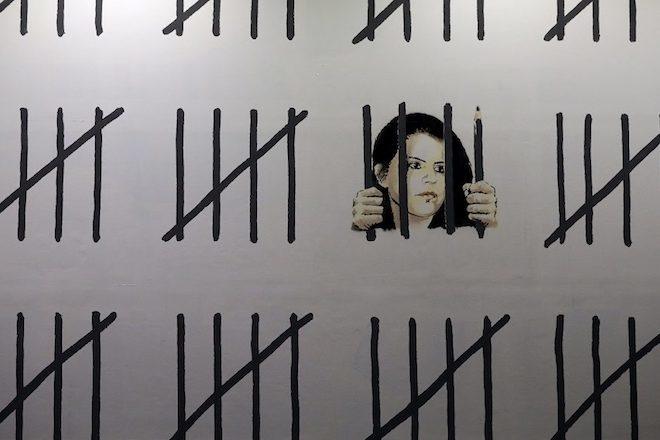 Banksy publie une lettre de Zehra Dogan écrite depuis sa cellule de prison