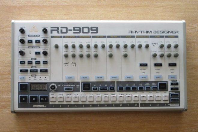 Behringer dévoile un clône de la TR-909