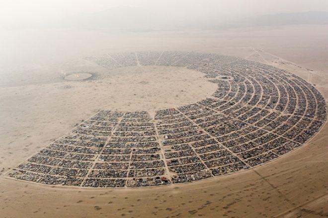 Live Stream : Suivez le Burning Man 2017 en direct