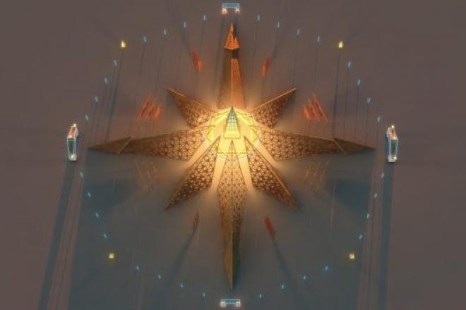 Burning Man : le festival a dévoilé le design futuriste du temple 2020