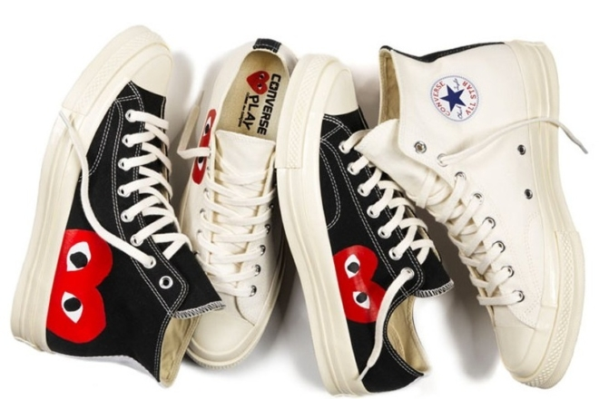 Un drop surprise de la collection Converse X Comme Des Garçons