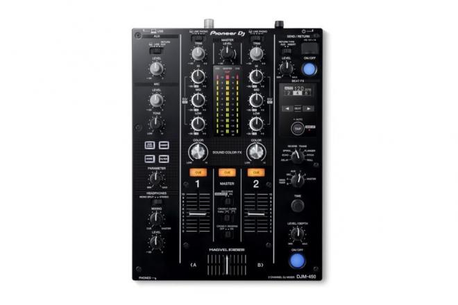 Pioneer DJ présente la DJM-450