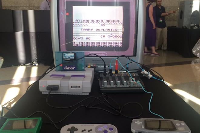 Un génie a combiné de vieilles consoles Nintendo pour réaliser des productions audiovisuelles