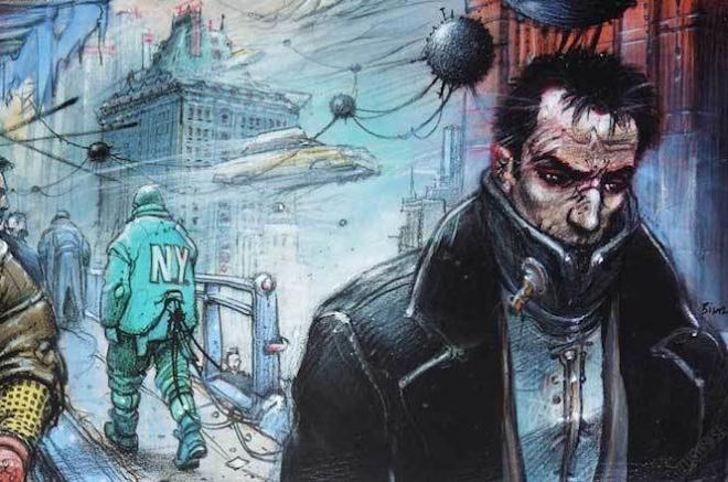 Une expo sur l'auteur de BD sci-fi Enki Bilal arrive à Paris