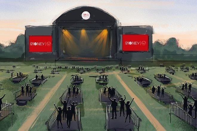 """Un espace XXL spécial """"distanciation sociale"""" pour les concerts et DJ sets va ouvrir cet été en Angleterre"""