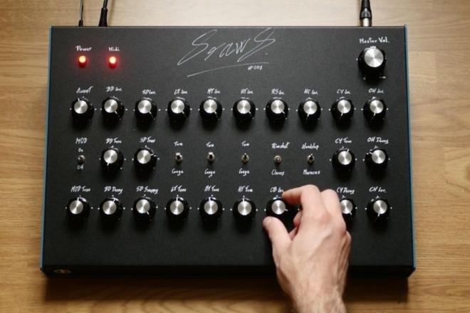 Une entreprise française a conçu un clone de la TR-808 à un prix abordable