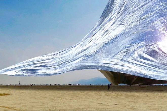 Une couverture spatiale de 10 000 m2 pourrait faire son apparition au Burning Man