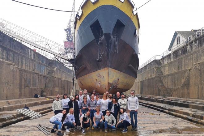 L'I.Boat de Bordeaux se remet à flot après une cale sèche d'un mois