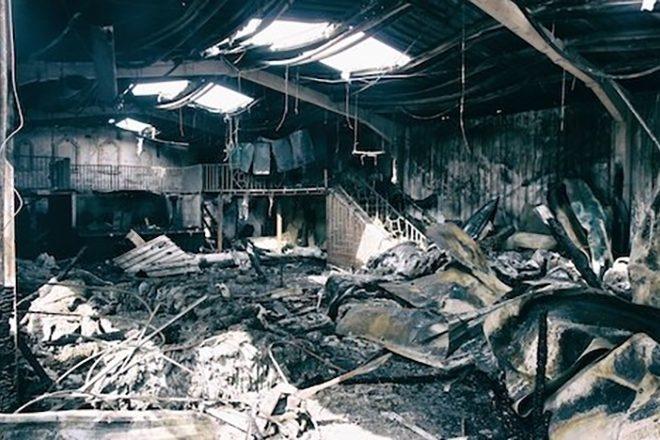 Berlin : Le club [IPSƏ] saccagé par un incendie criminel