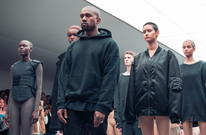 Kanye West recrute pour sa marque Yeezy