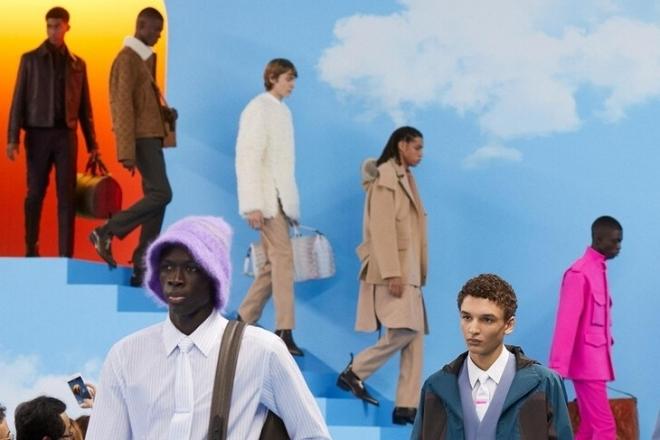 Juan Atkins et Richard David en live au défilé surréaliste de Louis Vuitton