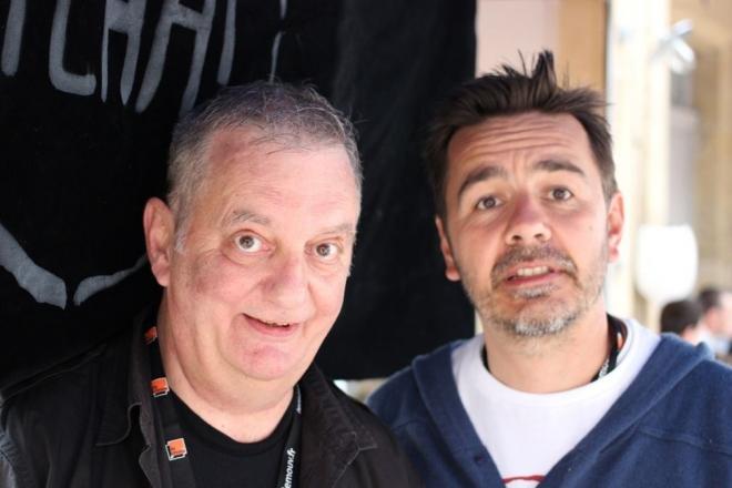 Laurent Garnier lance un show sur la radio de Moustic, le présentateur de Groland