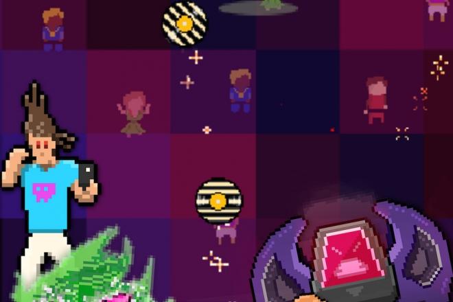 'Play or Die', le jeu mobile pour combattre l'invasion digitale à coup de lancer de vinyle.