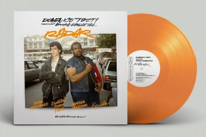 Ed Banger et la star du hip-hop Afrika Bambaataa s'unissent sur un vinyle audacieux