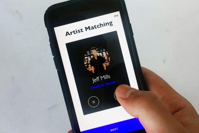 Refine, l'application qui te fait swiper la musique